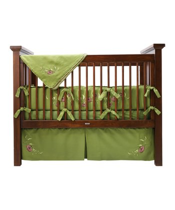 Passion Flower Crib Bedding Set