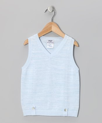 Light Blue Vest - Toddler & Boys