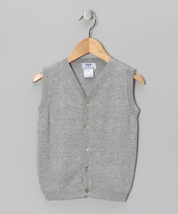 Gray Vest - Toddler & Boys
