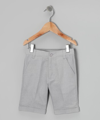 Gray Bermuda Shorts - Toddler & Boys