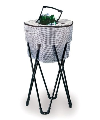 Houndstooth Tub Cooler