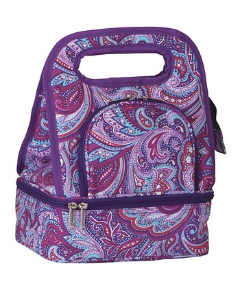 Purple Envy Savoy Lunch Tote