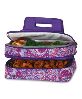 Purple Envy Entertainer Food Carrier