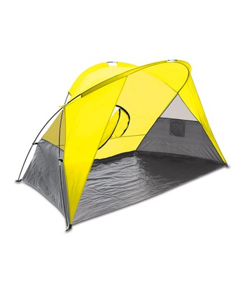 Yellow & Gray Cove Shelter