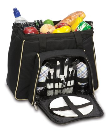 Black Toluca Picnic Set