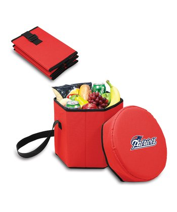 Red New England Patriots Bongo Cooler