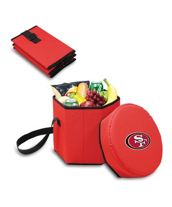 Red San Francisco 49ers Bongo Cooler