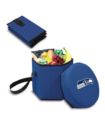 Navy Seattle Seahawks Bongo Cooler