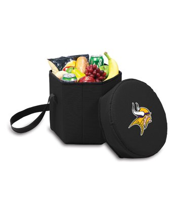 Black Minnesota Vikings Bongo Cooler
