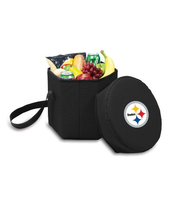 Black Pittsburgh Steelers Bongo Cooler