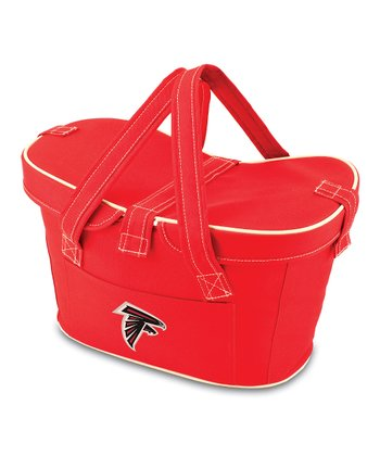Red Atlanta Falcons Mercado Basket Cooler