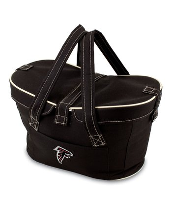 Black Atlanta Falcons Mercado Basket Cooler