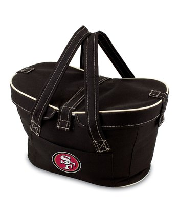 Black San Francisco 49ers Mercado Basket Cooler