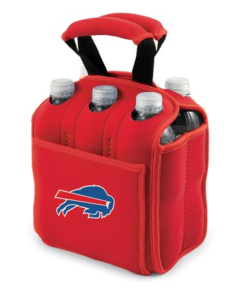 Red Buffalo Bills Insulated Six-Pack Carrier