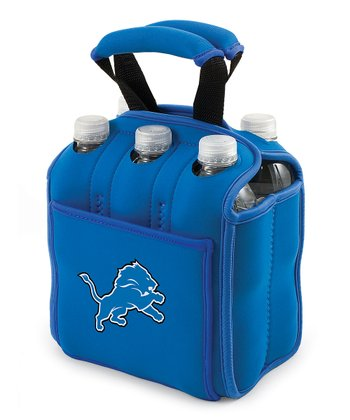Blue Detroit Lions Insulated Six-Pack Carrier