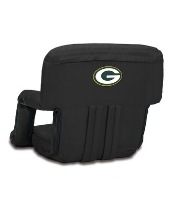 Black Green Bay Packers Ventura Seat
