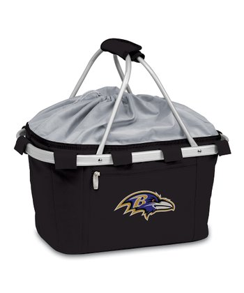 Black Baltimore Ravens Metro Basket