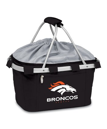 Black Denver Broncos Metro Basket