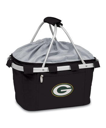 Black Green Bay Packers Metro Basket