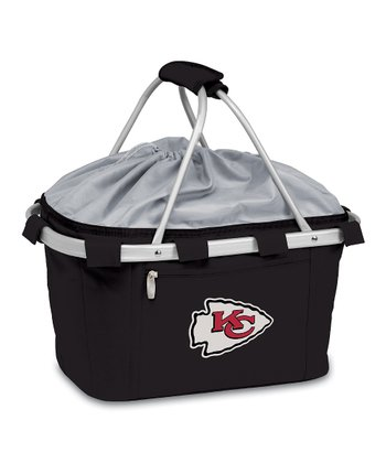 Black Kansas City Chiefs Metro Basket