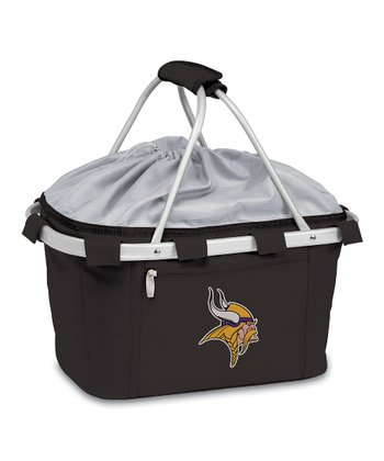 Black Minnesota Vikings Metro Basket