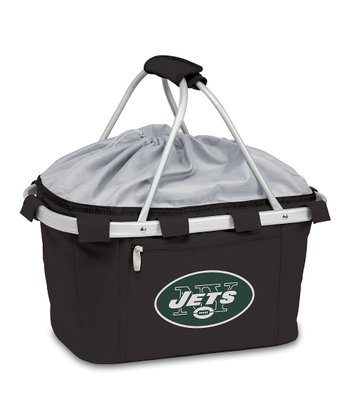 Black New York Jets Metro Basket