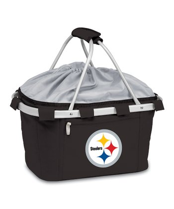 Black Pittsburgh Steelers Metro Basket