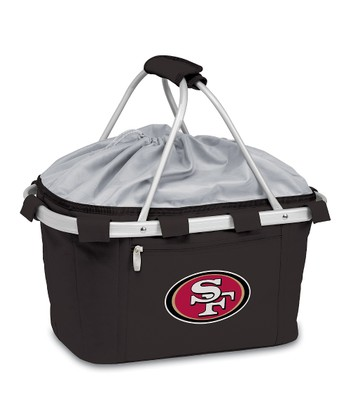 Black San Francisco 49ers Metro Basket
