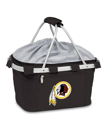 Black Washington Redskins Metro Basket