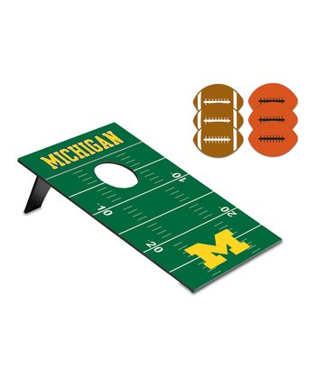 Michigan Football Beanbag Throw Game