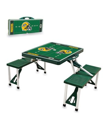 Green Bay Packers Hunter Picnic Table