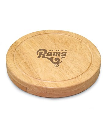 St. Louis Rams Circo Cheese Cutting Board Set