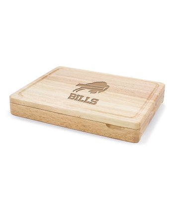 Buffalo Bills Asiago Cutting Board Set
