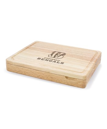 Cincinnati Bengals Asiago Cutting Board Set