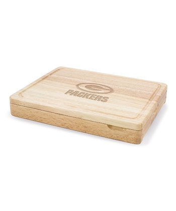 Green Bay Packers Asiago Cutting Board Set