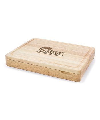 New England Patriots Asiago Cutting Board Set