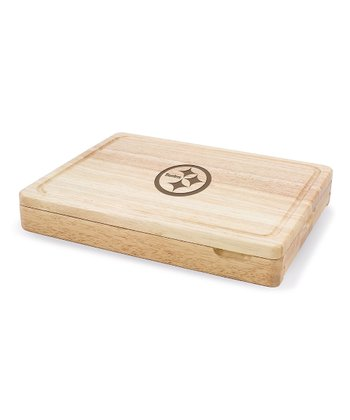Pittsburgh Steelers Asiago Cutting Board Set