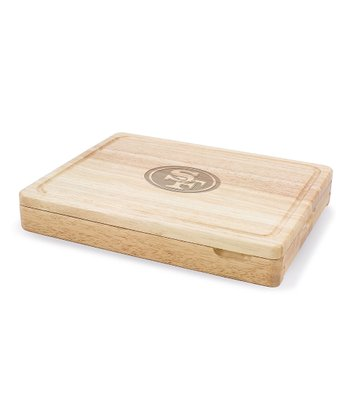 San Francisco 49ers Asiago Cutting Board Set