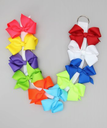 Summer Brights Big Bow Set