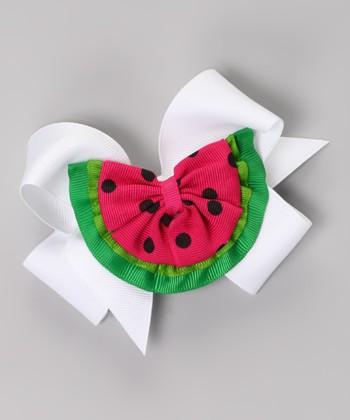 White Watermelon Clip