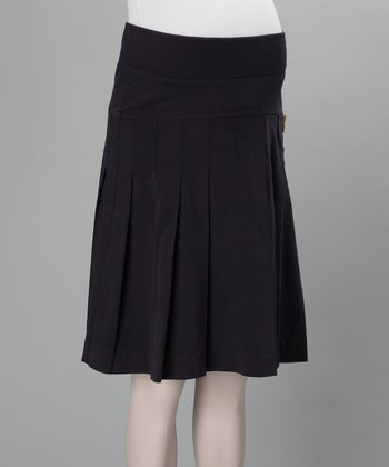 Grape Letizia Underbelly Maternity Skirt