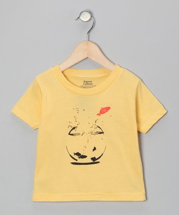 Yellow Goldfish Tee - Toddler