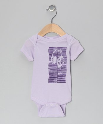 Lilac Tracks Bodysuit - Infant