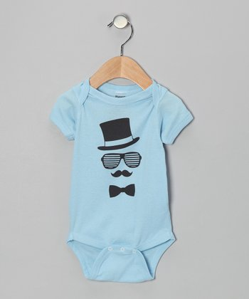 Light Blue Gent Bodysuit - Infant