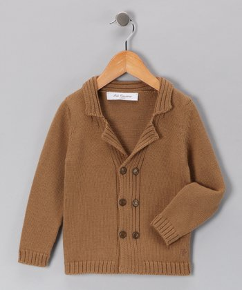 Pili Carrera Gold Wool-Blend Sweater - Infant, Toddler & Boys