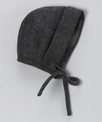 Pili Carrera Gray Wool-Blend Hood