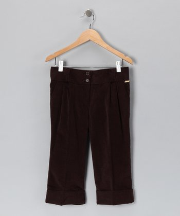 Pili Carrera Brown Pants - Toddler & Boys