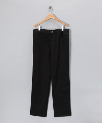 Pili Carrera Black Pants - Toddler & Boys