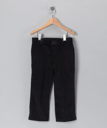 Pili Carrera Navy Corduroy Pants - Toddler & Boys
