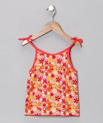 Fables Floral Tank - Infant, Toddler & Girls
